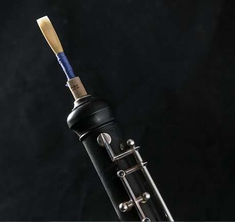 Oboe double reed